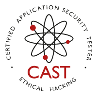 CAST Certified Application Security Tester Logo