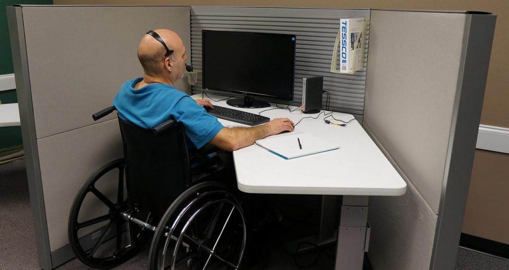 disabled user