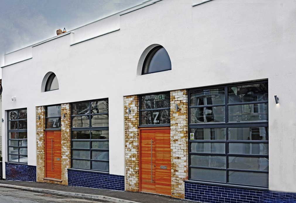 Zoonou Workshop Exterior After Renovation